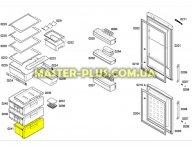 Ящик нижний (морозильной камеры) Холодильника Bosch Siemens 478947