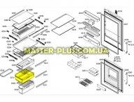 Ящик морозильной камеры (средний )Bosch 479334