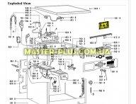 Модуль (плата управления) Whirlpool 480111102233 для стиральной машины