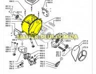 Бак  Whirlpool  480111104402 для стиральной машины