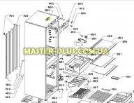 Модуль (плата)  Whirlpool  480132101593 для холодильника