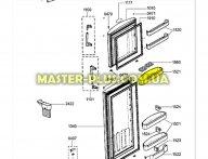 Полка (балкон) Whirlpool 480132102094 для холодильника