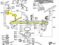 Импеллер (разбрызгиватель) верхний Whirlpool 480140101393