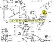 Циркуляционный насос Whirlpool 480140102394 для посудомоечной машины