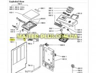 Замок (УБЛ) Whirlpool 481010464112 для стиральной машины
