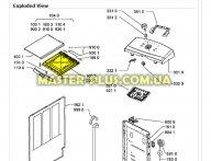 Панель крышки Whirlpool 481073084355 для стиральной машины