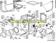 Модуль (плата) Whirlpool 481221458217 для стиральной машины