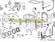 Модуль (плата) Ardo/Whirlpool 546089103 для стиральной машины