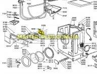 Модуль (плата управления с платой индикации и дисплеем в сборе) Whirlpool 481221838267 для стиральной машины
