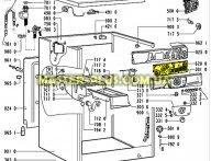 Модуль (плата)  управления Whirlpool  481223958002 для стиральной машины
