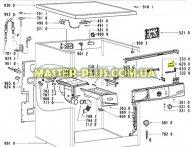 Модуль (плата) индикации Whirlpool 481223958046 для стиральной машины