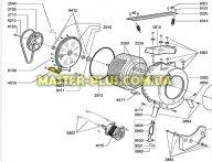 ТЭН 1950W Whirlpool 481225928806  Original для стиральной машины