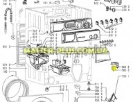 Датчик уровня воды(прессостат) Whirlpool 481227128507 для стиральной машины