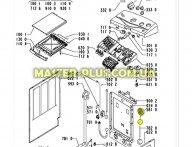Пресостат (датчик уровня воды) Whirlpool 481227128526 для стиральной машины