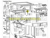 Прессостат Whirlpool 481227128582 для стиральной машины