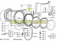 Замок (УБЛ) Whirlpool 481228058041 для стиральной машины