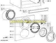 Замок (УБЛ) Whirlpool 481228058048 для стиральной машины