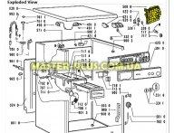 Модуль (плата) не прошит Whirlpool 481228210198 для стиральной машины