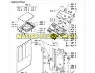 Модуль (плата) Whirlpool  481228219553 для стиральной машины