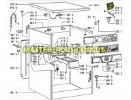 Модуль (плата управления) Whirlpool 481228219805 для стиральной машины