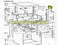 Программатор (селектор программ) Whirlpool 481231018441  для стиральной машины