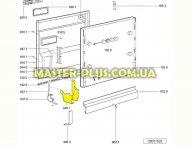 Завес двери (комплект) посудомоечной машины Whirlpool 481231018966 для посудомоечной машины