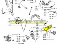 Насос (помпа) Whirlpool с корпусом 481236018597  для стиральной машины