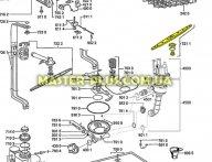 Импеллер (разбрызгиватель) нижний Whirlpool 481236068689 для посудомоечной машины