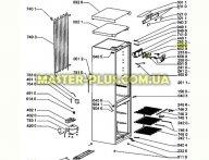 Вентилятор обдува холодильной камеры Whirlpool 481236118543