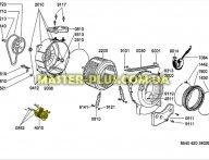 Мотор Whirlpool 481236138136 для стиральной машины