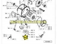 Мотор Whirlpool 481236158146 для стиральной машины