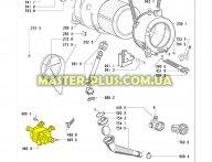 Двигатель стиральной машины Whirlpool 481236158439 для стиральной машины
