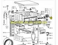 Ручка выбора программ Whirlpool 481241259008 для стиральной машины