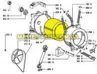 Барабан с крестовиной Whirlpool 481241818471 для стиральной машины