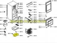 Ящик морозильной камеры (нижний) Whirlpool 481241848617