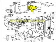 Бункер (дозатор) Whirlpool  481241879981 для стиральной машины
