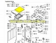 Верхняя крышка стиральной машины (метал) Whirlpool 481244019489 для стиральной машины