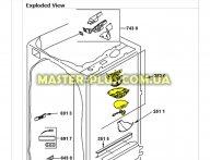 Модуль (плата управления) Whirlpool 481244079311 для холодильника