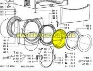 Стекло двери (люка) Whirlpool 481245078023 для стиральной машины