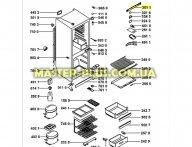 Модуль (плата управления ) Whirlpool 481245228469 для холодильника