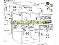 Модуль управления и индикации Whirlpool 481245228549
