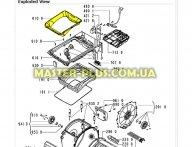 Рамка внутренняя (пластик)  Whirlpool 481245948175 для стиральной машины