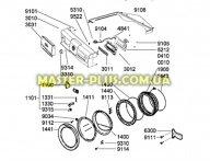 Ручка дверки (люка) Whirlpool 481246269024 для стиральной машины