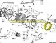Резина (манжет) люка Whirlpool 481246668709 для стиральной машины
