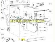 Ножка стиральной машины Whirlpool 481250018099 для стиральной машины