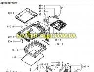 Патрубок сапун (воздухоотвод) Whirlpool 481253028942 для стиральной машины