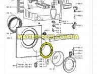 Обечайка дверки (внутреняя)  Whirlpool  481253228943