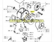 Уплотнительная резина бака Whirlpool 481253268078 для стиральной машины