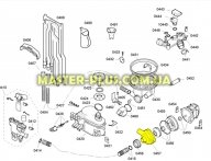 Верхняя часть корпуса Bosch 481562 для посудомоечной машины