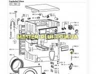 Датчик уровня воды (пресостат) Whirlpool 481927129082 для стиральной машины